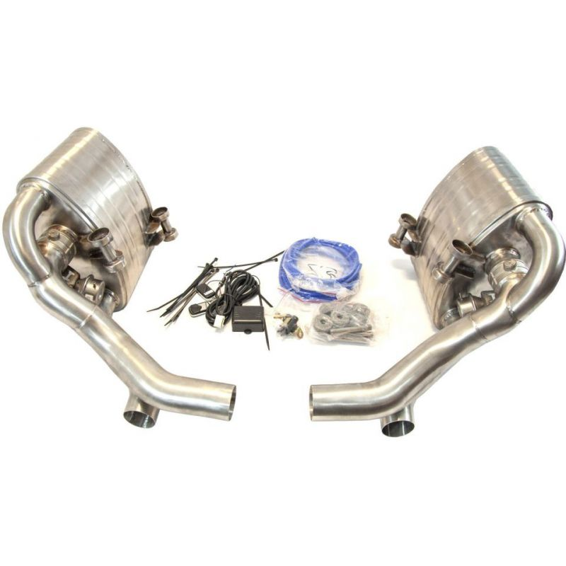 Porsche 996 Switchable Exhaust: Porsche 911 997.2 Carrera (Non-Turbo) Stainless Valved